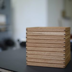 Wooden Trays by Studio Helico